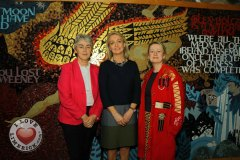 Pictured at the launch of the MidWest Empowerment and Equality Conference 2019 which is taking place at the University Concert Hall on Wednesday May 1st are Sr Helen Culhane, founder of Children's Grief Centre, Margaret O'Connor, Managing Director of Quigleys and Anne Cronin, Head of NOVAS Homeless Services. The conference will address social issues affecting both men and women. For tickets and info visit www.UCH.ie. Picture: Conor Owens/ilovelimerick.
