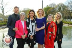 Pictured at the launch of the MidWest Empowerment and Equality Conference 2019 which is taking place at the University Concert Hall on Wednesday May 1st are Richard Lynch, founder of ilovelimerick.com, Sr Helen Culhane, founder of Children's Grief Centre, style queen Celia Holman Lee, Dr Mary Ryan, Consultant Endocrinologist in Bon Secours Hospital, Anne Cronin, Head of NOVAS Homeless Services and fitness expert Leane Moore. The conference will address social issues affecting both men and women. For tickets and info visit www.UCH.ie Picture: Conor Owens/ilovelimerick.
