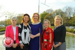 Pictured at the launch of the MidWest Empowerment and Equality Conference 2019 which is taking place at the University Concert Hall on Wednesday May 1st are Sr Helen Culhane, founder of Children's Grief Centre, style queen Celia Holman Lee, Dr Mary Ryan, Consultant Endocrinologist in Bon Secours Hospital, Anne Cronin, Head of NOVAS Homeless Services and Margaret O'Connor, Managing Director of Quigleys. The conference will address social issues affecting both men and women. For tickets and info visit www.UCH.ie Picture: Conor Owens/ilovelimerick.
