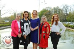 Pictured at the launch of the MidWest Empowerment and Equality Conference 2019 which is taking place at the University Concert Hall on Wednesday May 1st are Sr Helen Culhane, founder of Children's Grief Centre, style queen Celia Holman Lee, Dr Mary Ryan, Consultant Endocrinologist in Bon Secours Hospital, Anne Cronin, Head of NOVAS Homeless Services and hockey player Siobhan Loughran. The conference will address social issues affecting both men and women. For tickets and info visit www.UCH.ie Picture: Conor Owens/ilovelimerick.. The conference will address social issues affecting both men and women. For tickets and info visit www.UCH.ie Picture: Conor Owens/ilovelimerick.