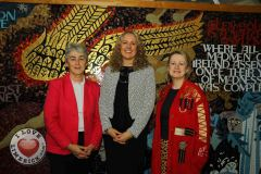 Pictured at the launch of the MidWest Empowerment and Equality Conference 2019 which is taking place at the University Concert Hall on Wednesday May 1st are Sr Helen Culhane, founder of Children's Grief Centre, nutritional therapist Olivia Beck and Anne Cronin, Head of NOVAS Homeless Services. The conference will address social issues affecting both men and women. For tickets and info visit www.UCH.ie. Picture: Conor Owens/ilovelimerick.