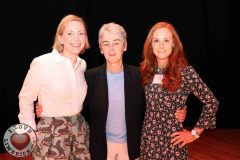 Maryanne Lowney, Colaiste Geann Lí, Helen Culhane, children's grief centre and Sinead Loughran, 2nd year medical student in UL GEMS and World Hockey Irish Team, at the Midwest Empowerment and Equality Conference 2019 in University Concert Hall, Limerick on May 1st. Picture: Zoe Conway/ilovelimerick
