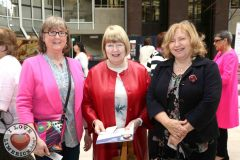 Patricia Ford, Neenagh with Patricia Moxonbrowne and Mary Oakley from Killaloe at the Midwest Empowerment and Equality Conference 2019 in University Concert Hall, Limerick on May 1st. Picture: Zoe Conway/ilovelimerick
